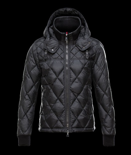 New Cheap Moncler Men Jackets Black Sale NA1026